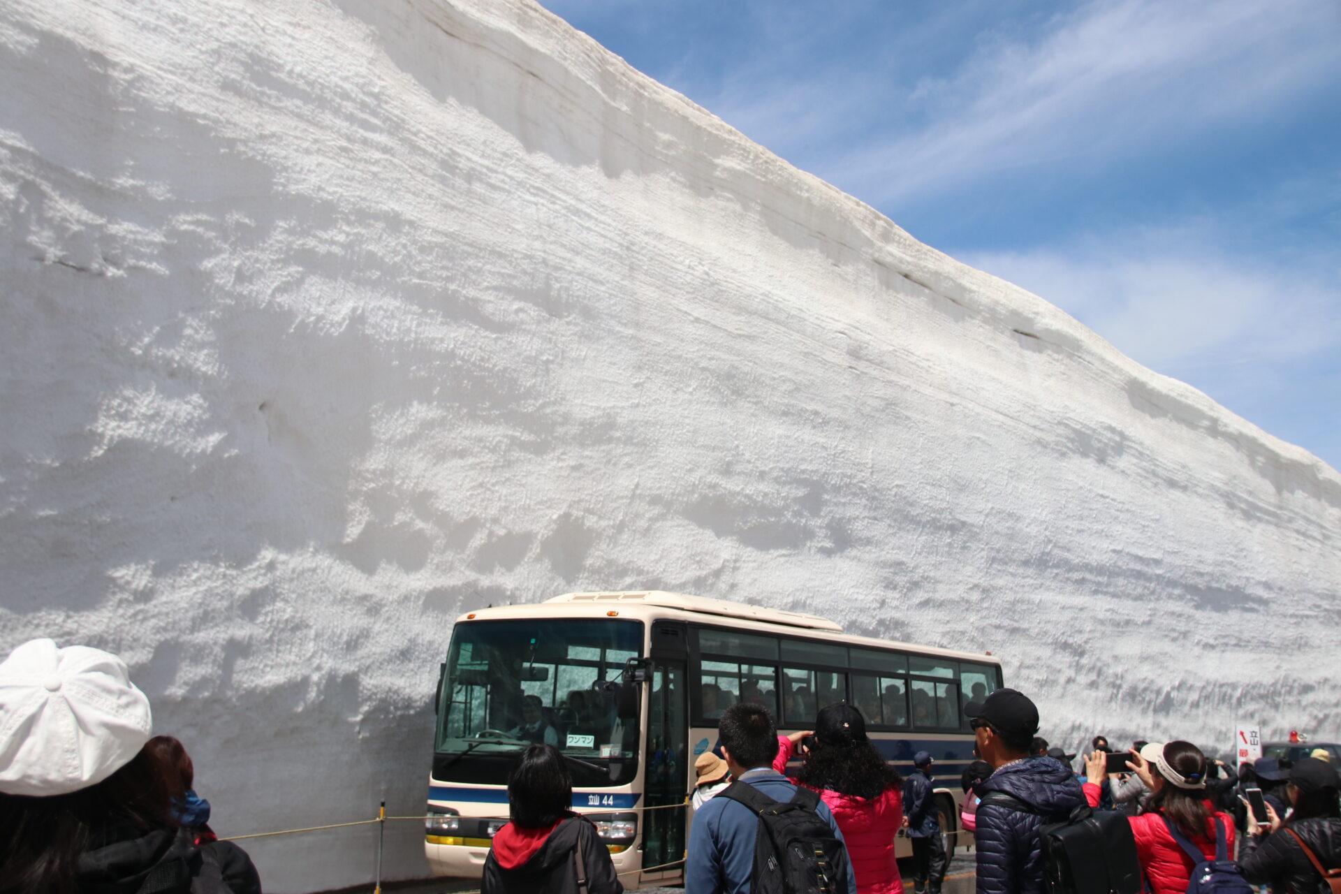 【立山アルペンルート】「雪の大谷」に行ってきました