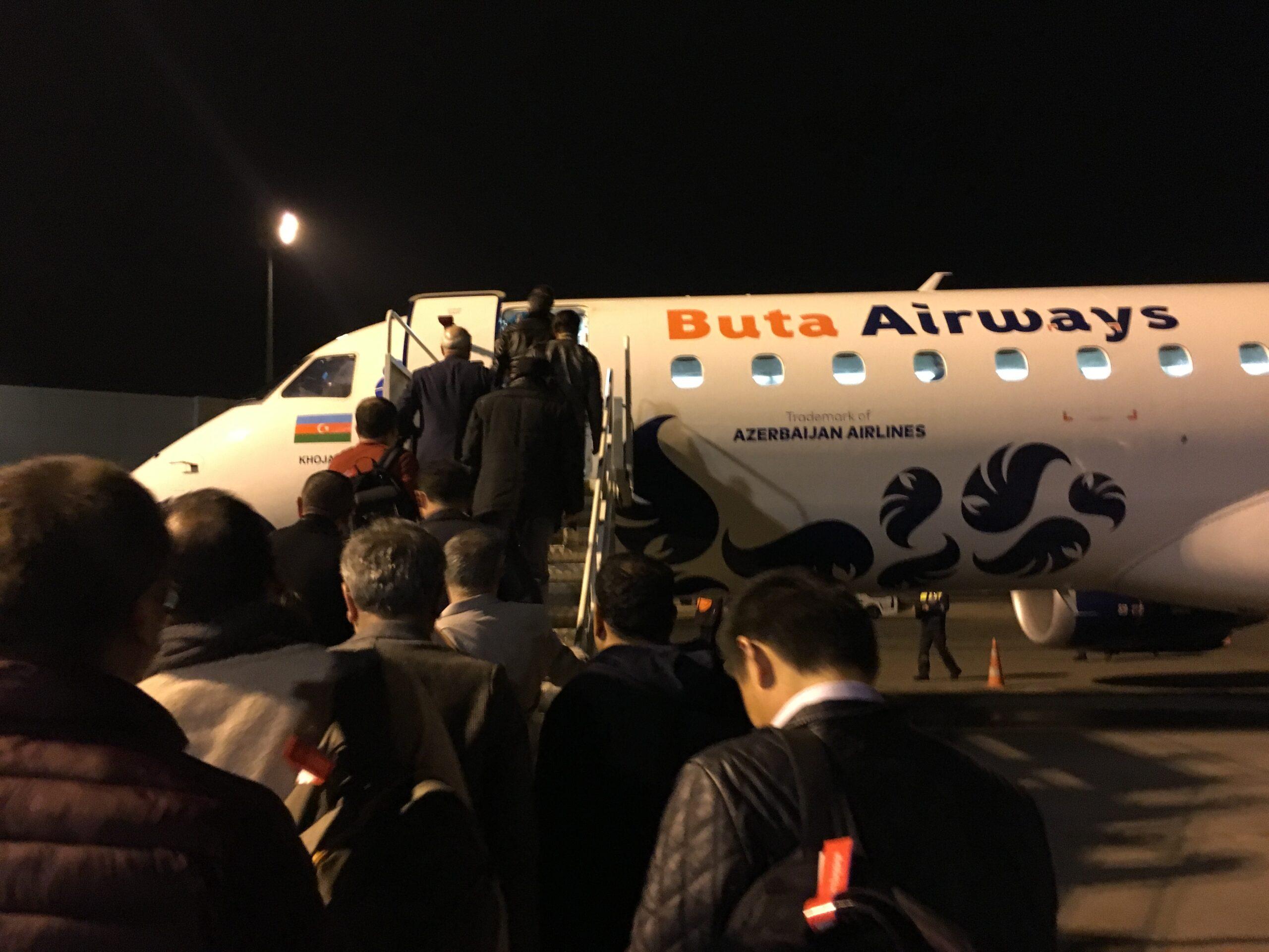 【ブタエアウェイズ】バクーからトビリシまで乗ったブタエアウェイズの搭乗レビュー